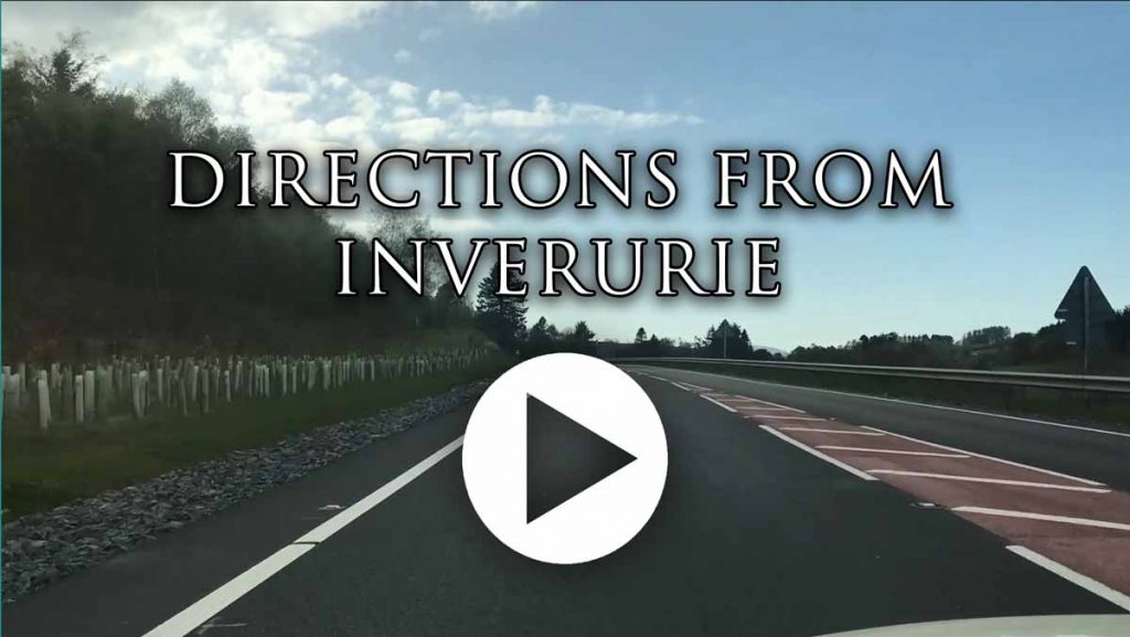 contact directions from inverurie