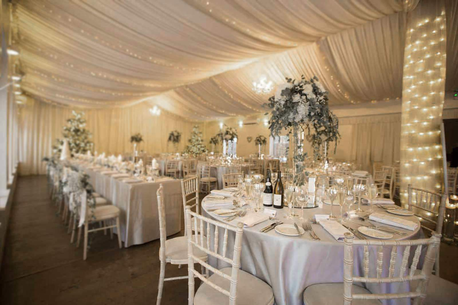 logie house wedding ballroom