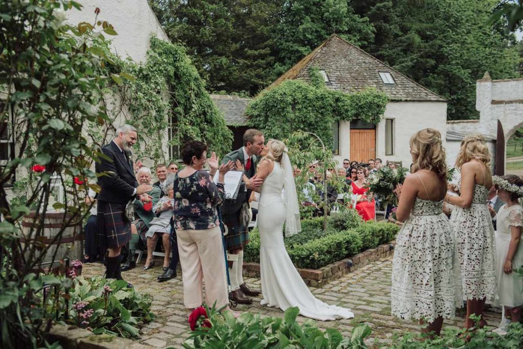 Outdoor Wedding Scotland
