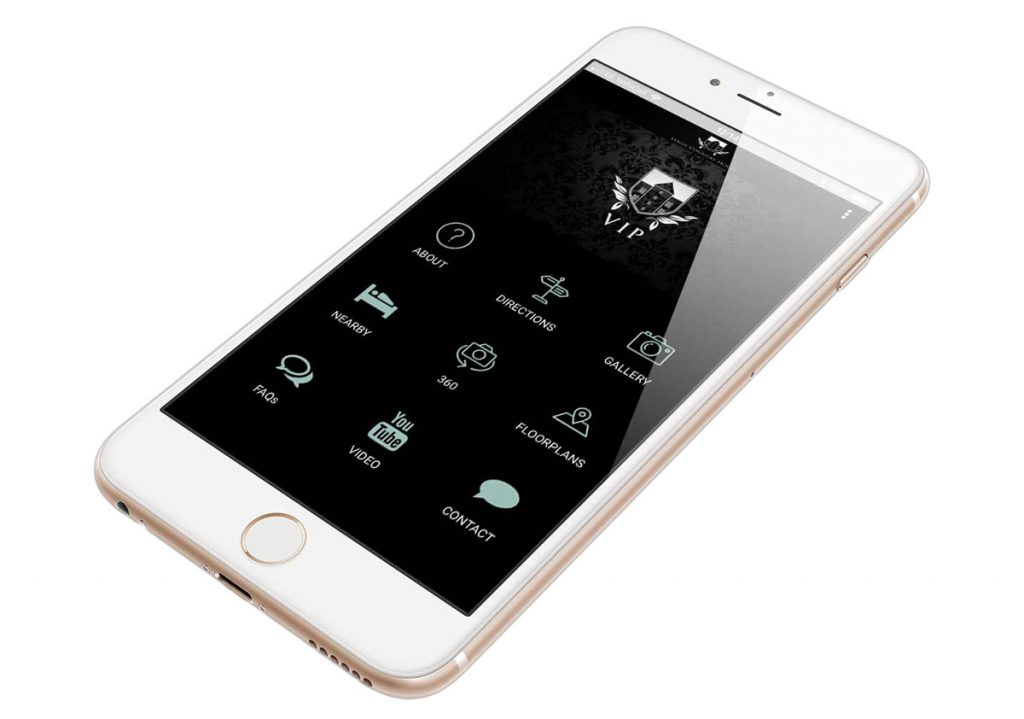 iphone app logie white