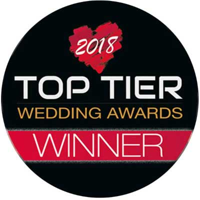 Top Tier wedding awards 2019