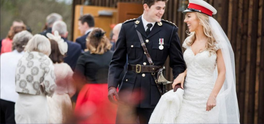 Military Wedding Scotland