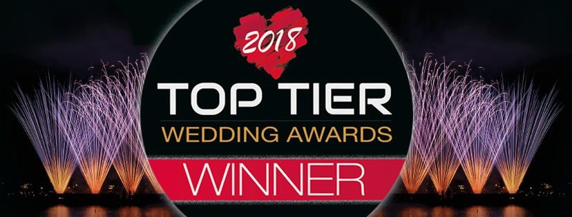 top tier wedding venue awards winner