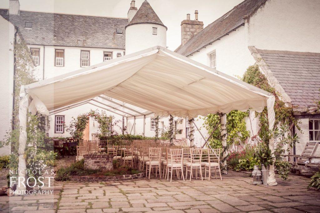 Wedding Venue with Courtyard