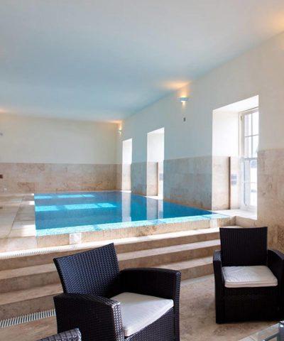 scottish castle swimming pool